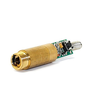 Green Diode Lasers Industrial/Lab 532nm 5mw Brass Laser Dot Module 3v with Driver