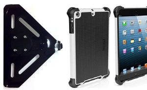 SlipGrip RAM-HOL Mount for Apple iPad Air Tablet Using Ballistic Tough Jacket HC Rugged Hard Case