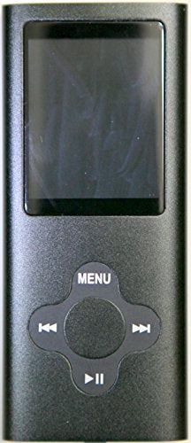 Vertigo 00110 4 GB MP4 Player (Black/Green)
