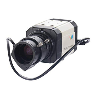 Vanxse Cctv Mini Hd 1/3 Ccd 960h Auto Iris 1000tvl 2.8 12mm Varifocal Lens Bullet Box Security Camer