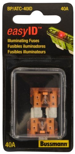 Bussmann BP/ATC-40ID easyID Illuminating Blade Fuse, (Pack of 2), Model: BP/ATC-40ID (Tools & Outdoor gear supplies)
