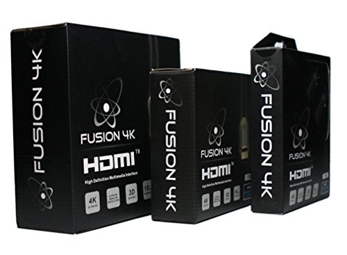 Fusion4K High Speed 4K HDMI Cable (4K @ 60Hz) - Professional Series (30 Feet) CL3 Rated