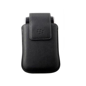 BlackBerry Black Verticle Synthetic Case Pouch with Non-Removable Swivel Holster for Torch 9800