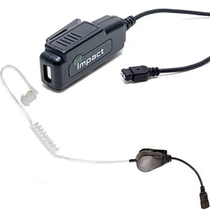 Impact M17-G2W-AT6 Gold Series 2-Wire Surveillance Earpiece Kit for Motorola XPR + DP Series Radios