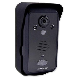 Seco-Larm DP-266-CQ Additional Color Video Door Phone Camera for DP-266-1C3Q Wireless Video Door Phone, 2mm lens, 480 TV Line Resolution, 170 Field of View, Up to 20 Any Direction