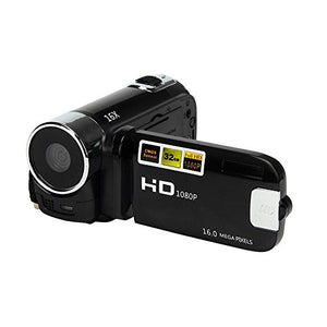 elegantstunning Camera Camcorders, 16MP High Definition Digital Video Camcorder 1080P 2.7 Inches TFT LCD Screen 16X Zoom Camera Recorder