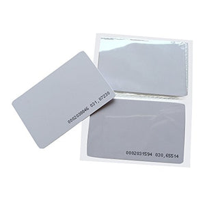 YARONGTECH RFID Card Proximity access control 125khz Blank 0.9mm Thin EM4100 Chip (pack of 100)