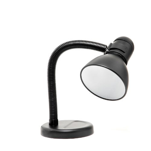 Boston Harbor Flexible Desk Lamp, Black