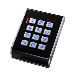 K31 Plastic EM ID Card Reader with Noctilucent Keyboard for Access Control System.