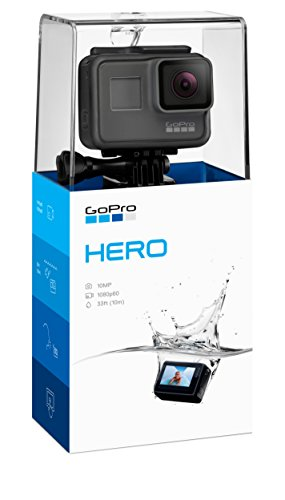GoPro HERO  Waterproof Digital Action Camera for Travel with Touch Screen 1080p HD Video 10MP Photos