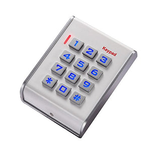 K31 Plastic Reading-Head ID Card Reader with Noctilucent Keyboard for Access Control System