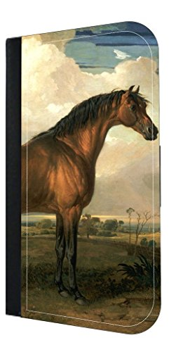 Artist James Ward Horse Painting- Rosie Parker Inc. Samsung Galaxy S8 PU Leather and Suede Wallet Style Phone Case