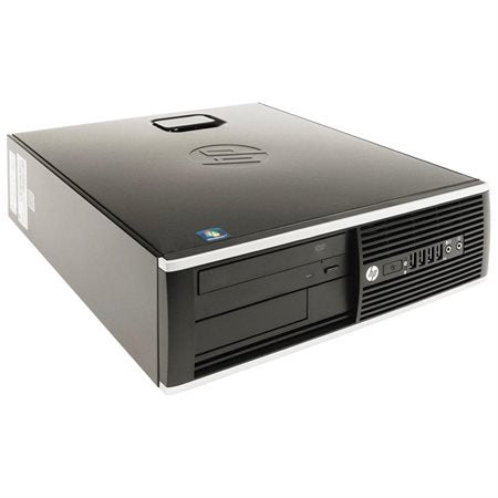 HP 8300 Elite Small Form Factor Business Desktop Computer (Intel Quad Core i5 up to 3.6GHz Processor), 8GB DDR3 RAM, 120GB SSD, USB 3.0, DVD, Windows 10 Professional (Renewed)