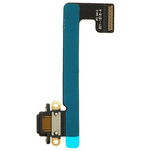 Charge Port (Flex Cable) for Apple iPad Mini 2 (Black) with Glue Card