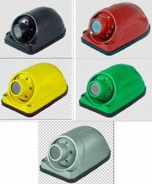 Yan Tech Usa Ccd Color Side View Camera With Night Vision, 120 Degree View, Waterproof, Multi Color