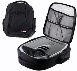 Navitech Protective Portable Projector Carrying Case and Travel Bag For The Epson EB-X41