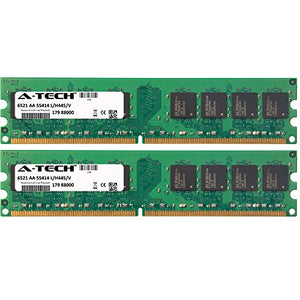 4GB KIT (2 x 2GB) for Dell XPS Desktop Series 200 (DXC051) 420 600 (DXG051) 630 630i 710 710 H2C 720 720 H2C One One 20. DIMM DDR2 Non-ECC PC2-5300 667MHz RAM Memory. Genuine A-Tech Brand.