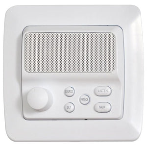 Intrasonic Technology IST RETRO Intercom Room Station, White (RETRO-5R)