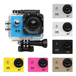 UGI Action Camera 16MP 4K WiFi Waterproof Sports Cam 170 Degree Ultra Wide-Angle Len with Mounting Accessories Kits