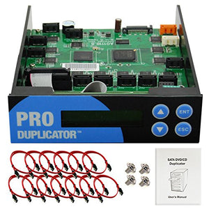 Produplicator 1-11 Blu-ray CD/DVD/BD SATA Duplicator Copier Controller + Cables, Screws & Manual