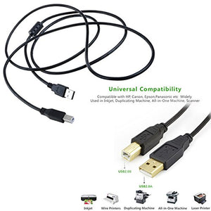 Accessory USA 6ft Ethernet Connecting Cable Cord for Biometric Fingerprint Attendance Time Clock Nice C500T C600U