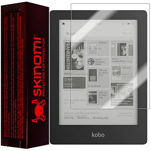 Skinomi Screen Protector Compatible with Kobo Aura HD (e-Reader) Clear TechSkin TPU Anti-Bubble HD Film