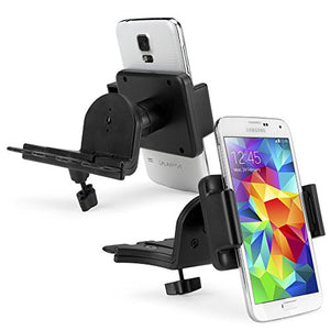 Car Mount, BoxWave [Universal EZCD Mobile Mount - for Smartphones] Smartphone Cradle Attaches to Car CD Player for Smartphones