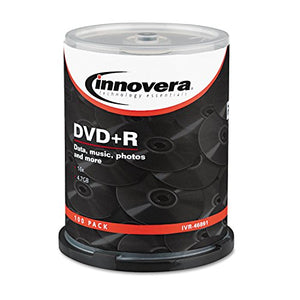 IVR46891 United STATIONERS (OP) DISC,DVD+R,4.7GB,100PK