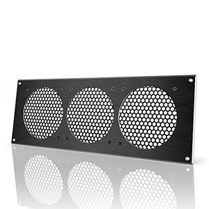 AC Infinity Black Ventilation Grille 18