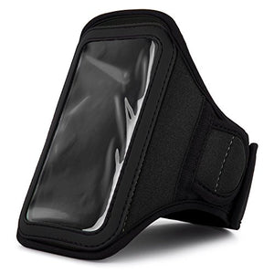 Vangoddy Athlete's Choice Workout Armband For Sony Xperia J1 Compact Smartphone, Black
