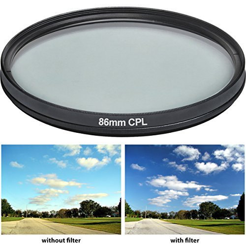 Vivitar CPL86 86mm 1-Piece Multi-Coated  Camera Lens Filter Sets