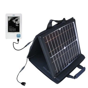Gomadic SunVolt High Output Portable Solar Power Station Designed for The Kobo eReader - Can Charge Multiple Devices with Outlet speeds