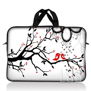 Laptop Skin Shop 15.6 inch Laptop Sleeve Bag Carrying Case Pouch with Hidden Handle Compatible with 14