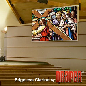 Draper 255011SC Edgeless Clarion 120 diag. (72x96) - Video [4:3] - ClearSound NanoPerf XT1000V 1.0 Gain