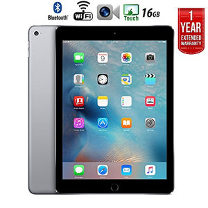 Apple iPad Air 2 16GB Wifi with 1 Year Extended WARRANTY - (Renewed)