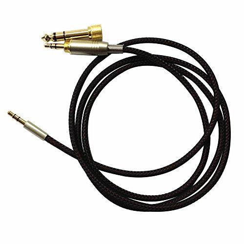 NewFantasia Replacement Audio Upgrade Cable for B&O PLAY by Bang & Olufsen Beoplay H6 / H7 / H8 / H9 / H2 Headphone 1.2meters/4feet