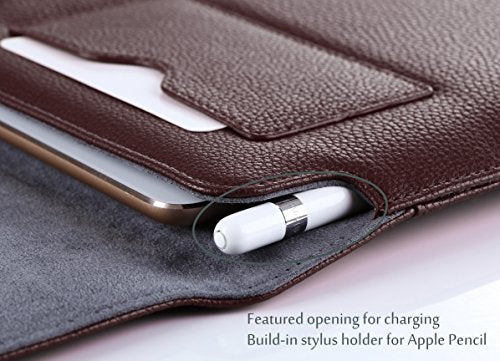 "Procase 9.7 10.5 Inch Wallet Sleeve Case For I Pad 10.2 7th 2019,Air 10.5 2019, I Pad Pro 9.7"", I Pad P"