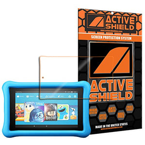 Amazon Kindle Fire 7 Kids Edition, 7-inch Tablet (2017) Screen Protector Active Shield all weather Premium HD shield with Lifetime Replacement Incentive Program
