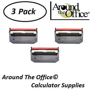 Around The Office Compatible Package of 3 Individually Sealed Ribbons Replacement for HER 4800 Calculator