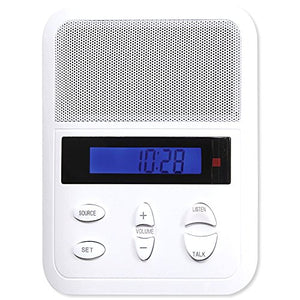Intrasonic Technology IST I2000 Intercom Patio Station, White (I2000P)
