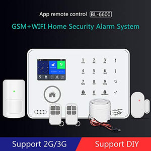 Wireless Smart Home Security Alarm Kit, with Window/Door Alarms, Easy Installation, DIY Home Protection, Burglar Alert, Magnetic Sensor