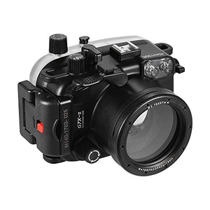 Andoer Waterproof Camera Diving Housing Protective Case Cover Underwater 40m/ 130ft For Canon G7 X Ma