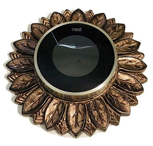 Nest Thermostat wall plate - Antique Copper Color