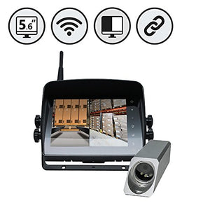 Wireless Safety Camera System for Forklifts by Rear View Safety