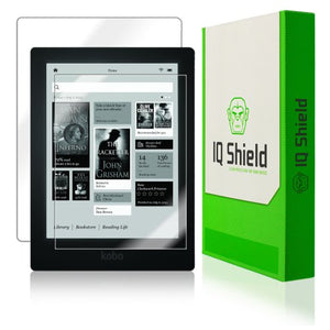 IQ Shield Full Body Skin Compatible with Kobo Aura HD e-Reader + LiQuidSkin Clear (Full Coverage) Screen Protector HD and Anti-Bubble Film