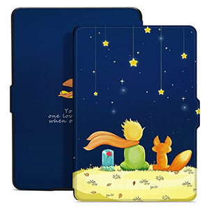 Ayotu Case for Kindle Paperwhite Auto Wake/Sleep Smart Protective Cover Case - Fits Paperwhite Generations Prior to 2018(Not Fit New Kindle Paperwhite 10th Gen) K5-09 The Boy and Fox