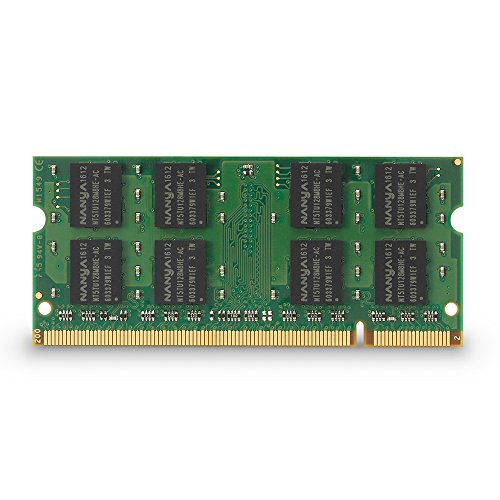 Kingston Technology 2 GB Unbuffered System Specific Memory Model 2 Not a kit (Single) DDR2 667 (PC2 5300) 200-Pin SO-DIMM KTH-ZD8000B/2G