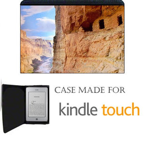 Grand Canyon Cliff Dwellings Kindle Touch Fabric Notebook Case / Cover Great Gift Idea
