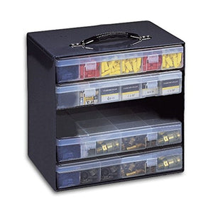 Rack Unit For Large Plastic Compartment Boxes