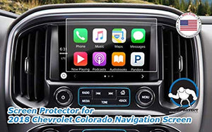 Tuff Protect Anti-Glare Screen Protectors for 2018 Chevrolet Colorado Navigation Screen